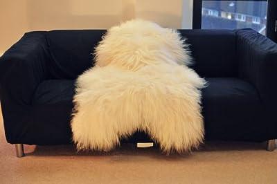 Biggest | Soft and Silky | Icelandic Sheepskin Rug | - low-cost UK light shop.