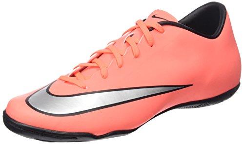 Nike Mercurial Victory V Ic, Scarpe da Calcio Uomo Multicolor (Bright Mango/Hyper Turquoise/Metallic Silver)