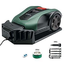 Tondeuse robot Bosch – Indego M 700 (18 V, Jusqu'à 700 m², Largeur de coupe 19 cm)