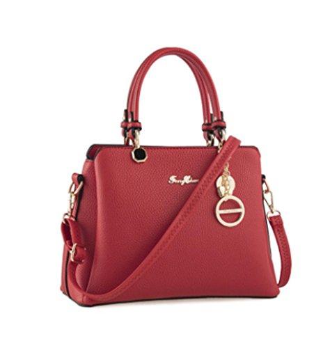 GBT Art- und Weiseneue Handtaschen-Handtaschen, Schulter-Beutel red charm