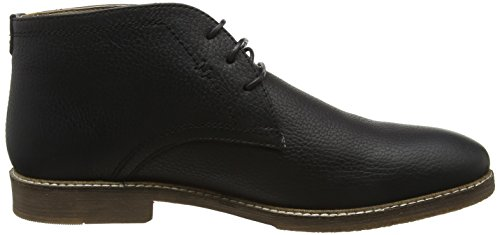 Red Tape Herren Wimpole Chukka Boots Black (Milled Black)