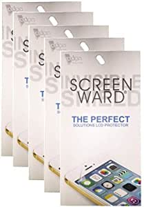 SCREEN WARD Clear Screen Guard Pack Of 5 For HTC One M7