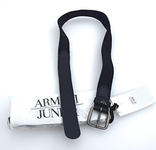 ARMANI JUNIOR CINTURA BAMBINO BLU MARINE ART. S4102 BLU MARINE