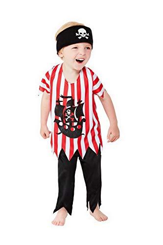 Confettery Jungen Kinder Piraten Kostum Mit Hose Oberteil Und