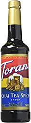 Torani Chai Tea Spice Syrup Chai 750 Ml Bottle