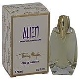 Alien Eau Extraordinaire by Thierry Mugler Eau de Toilette for Women 0.2oz 6 ml Mini Perfume by Thierry Mugler