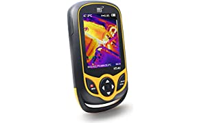 Thermal Imaging Camera, Pocket-sized Infrared Camera with Real-Time Thermal Image,Infrared Image Resolution 220 x 160-Temperature Measurement Range -4°F to 572°F,Mini IR Thermal Imager,Hti-Xintai