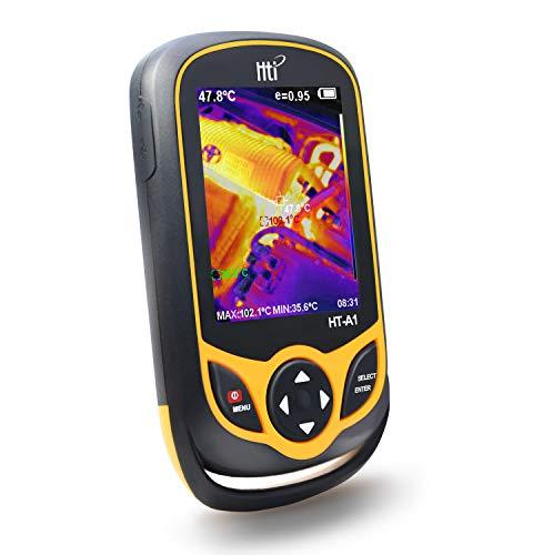 Wärmebildkamera, Taschenformat, Infrarotkamera mit Echtzeit-Thermobild, Infrarot-Bildauflösung, 220 x 160 Temperaturmessbereich -4 ° F bis 572 ° F, Mini-IR-Thermobild, Hti-Xintai