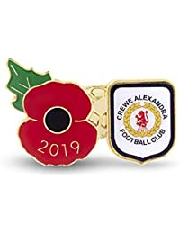 The Royal British Legion Crewe Poppy Football Pin 2019