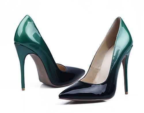 TDA - Sandali con Zeppa donna Black-Green