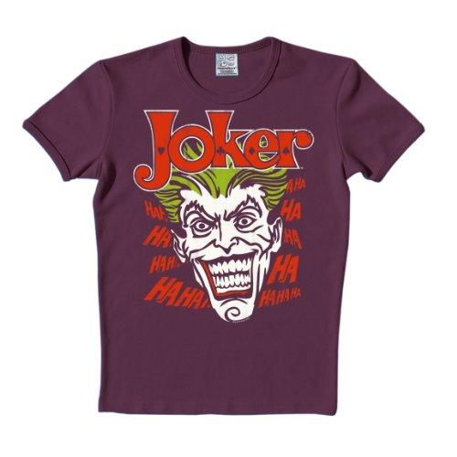 Logoshirt Unisex T-Shirts   - Violett - Violet - XL (Herstellergröße: XL)