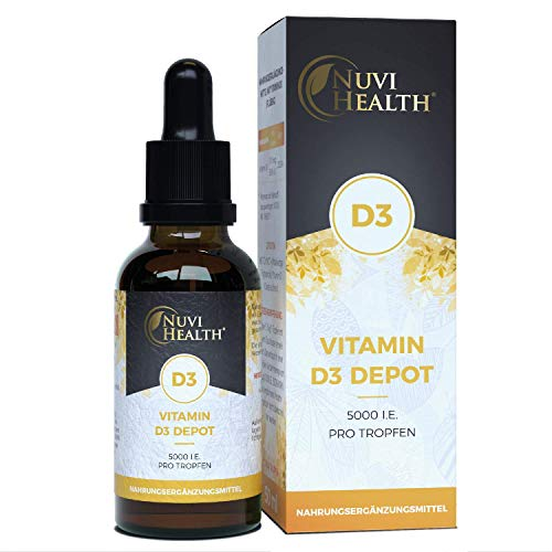 Nuvi Health® Vitamin D3 5000 I.E (125