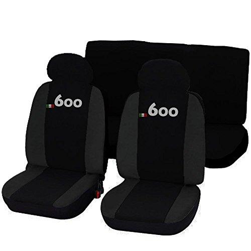 Lupex-Shop-600NGs-Coprisedili-Auto-Seicento-Bicolore-NeroGrigio-Scuro
