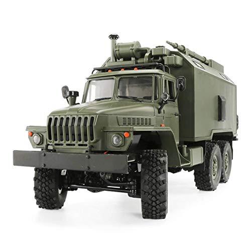 Muzili - Monster Truck 1/16 2.4G 6-Radantrieb RC-Auto elektrische Off-Road-Militär-LKW Raupe Klettern Automodell modifizierte Kinder Spielzeugauto