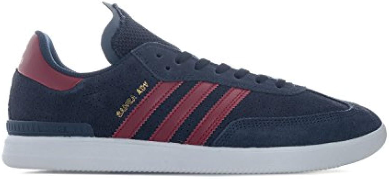 Adidas Samba ADV, Zapatillas de Skateboarding Unisex Adulto, Azul (Maruni/Buruni/Ftwbla 000), 40 EU  -
