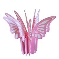 Iwatani Materials natural evaporative ECO humidifier moisture Moisture butterfly pink UMI-01