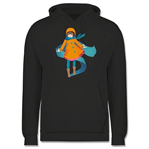 Statement Shirts - Herbstspaziergang - Männer Premium Kapuzenpullover / Hoodie Dunkelgrau
