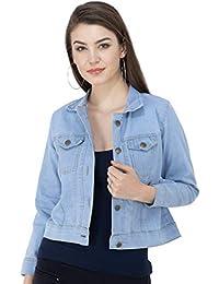 Montrez Full Sleeve Solid Women Denim Jacket