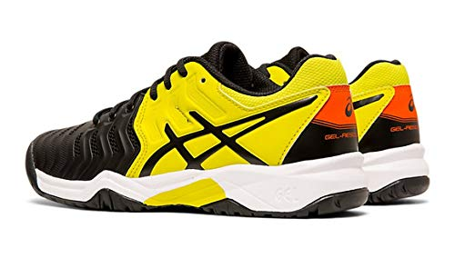 Chaussure Asics Gel Resolution 7 GS Junior Black / Sour Yuzu FW19...