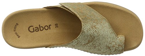 Gabor Shoes Fashion, Ciabatte Donna Beige (honey 63)