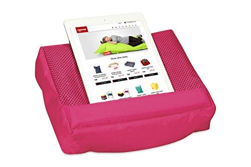 Roomox Kissen TOSH für Smartphone, eReader, Tablet-und iPad-Besitzer (Pink-Fuchsin), Polyester, 28x6,5x21 cm
