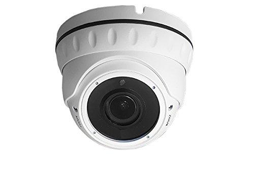 HD-SDI Dome Kamera Full HD 1080P 30 Meter Nachtsicht für Innen und Außen Weiß Koaxialkabel BNC Modernes Design Hd-sdi