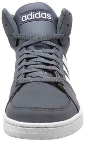adidas - Vs Hoops Mid, Scarpe sportive Uomo Grigio (Onix/Ftwbla/Ftwbla)