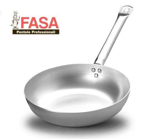 Padella alta 1 Manico professionale della FASA diametro 45cm in alluminio puro 99% MADE IN ITALY