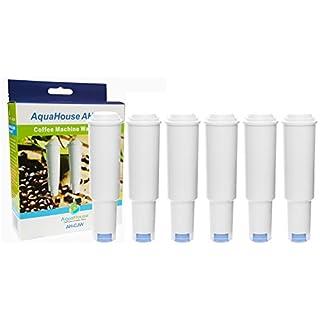 6x Aquahouse AH-CJW Kompatibel für Jura Claris White Wasserfilterpatrone Kaffeemaschine