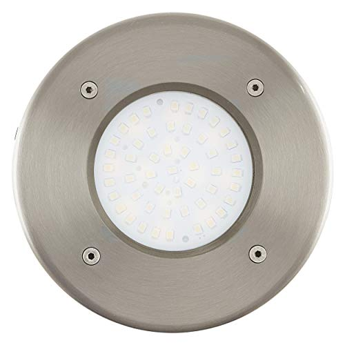 EGLO 93482 Bodeneinbauleuchte, Glas, Integriert, transparent -