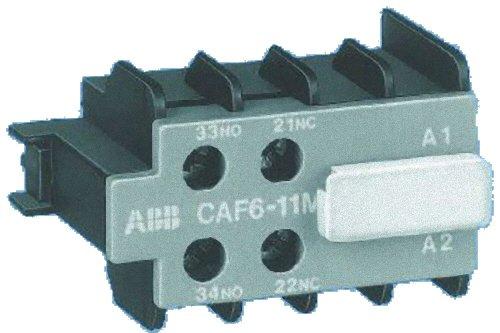 Abb-entrelec caf6 - Bloque contacto auxiliar -02m frontal tornillo