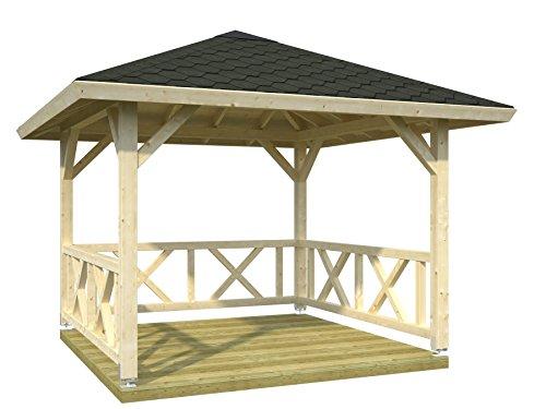 Palmako Holz-Pavillon Lucy