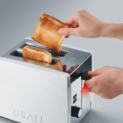 Graef Acrylic 2 Slot Toaster, White