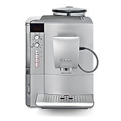 Bosch TES51551DE Kaffeevollautomat VeroCafe LattePro (1600 W, 1,7 L, 15 bar, Cappuccinatore) silber