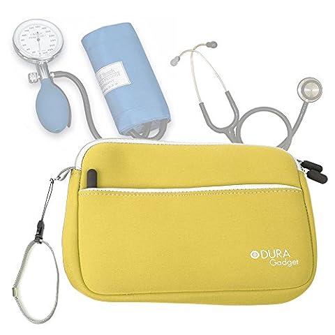 Trousse d'infirmière en jaune pour transporter vos accessoires médicaux (tensiomètre,