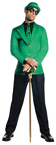 Kostüm Villain Super - DC Comics Super Villains The Riddler Adult Costume Large