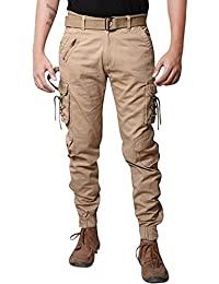 Verticals Stylish and Trendy Dori Style Cargo Jogger Pants for Men (plaindori-2)