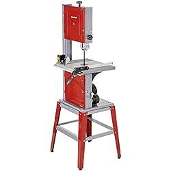 Einhell 4308055 Sierra de cinta, 750 W, 240 V, rojo, 1145 x 530 x 445 mm