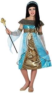 Atosa-15961 Disfraz Egipcia 5-6, Color dorado, 5 a 6 años (8.42226E+12)