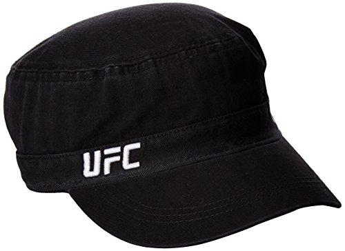 Reebok Unisex Fighter verstellbar Military Hat, schwarz, one size