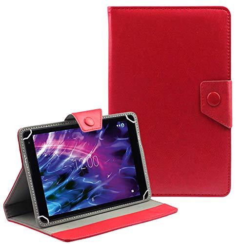 NAUC Medion Lifetab P8514 P8314 P8312 S8312 Hülle Tasche Rot Schutzhülle Case Cover