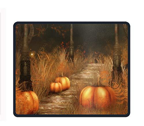 Mauspad, Rutschfest, Gummi, bequem, individuell anpassbar, Sunshine, Pumpkins Halloween, Einheitsgröße