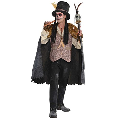 Mens Voodoo Witch Doctor Kostüm - Plus - Witch Doctor Fancy Dress Kostüm