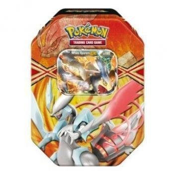 Pokemon TCG Card Game 2013 Spring EX Tin White Kyurem [Toy] (Pokemon White Kyurem Ex)