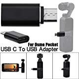 Skryo Ersatztyp C USB C auf USB-A 3.0 Adapter Fast Adapter für DJI Osmo Pocket