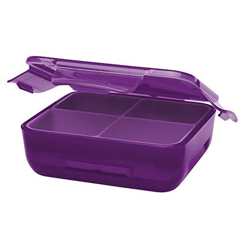 Aladdin 32405 Boîte repas isotherme pour enfant avec coussinet réfrigérant Violet
