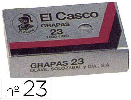 El Casco 136862 - Caja 1000 grapas galvanizadas Nº
