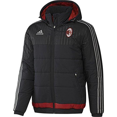 2015-2016 AC Milan Adidas Padded Jacket (Black) Black