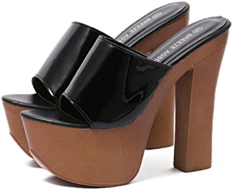 DANDANJIE Scarpe da Donna Imitazione Legno Estate Comfort Sandali Scarpe Scarpe Scarpe da Camminata Chunky Heel Peep Toe per... | Abbiamo Vinto La Lode Da Parte Dei Clienti  | Scolaro/Ragazze Scarpa  9c2183