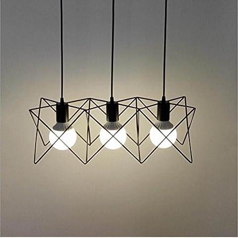 LLYY-Ferro battuto lampadari portato il creativo prima